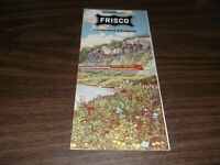 OCTOBER 1963 SLSF FRISCO CONDENSED SYSTEM PUBLIC TIMETABLE