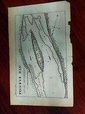 1899 Sketch Map of Pigs Eye Bar Island