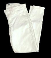 Paige Verdugo Ankle Jeans Women's Size 30 Ultra White Mid-Rise Denim