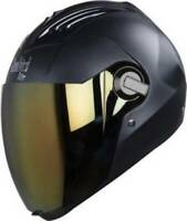 Steelbird Air Sba-2 Full Face Motorcycle Dashing Black Helmet With Extra Visor-M