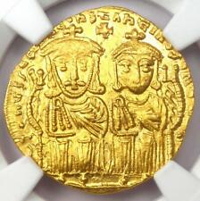 Constantine VI AV Solidus Gold Coin 780-787 AD - Certified NGC MS (UNC)