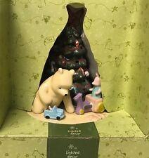 NEW RARE WINNIE THE POOH AND PIGLET LIGHTED DECOR HOLIDAY LAMP PLUG IN DISNEY