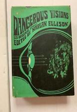 Harlan Ellison, Dangerous Visions, classic short story collection, groundbreakin