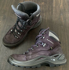 Women's LOWA Renegade GTX Mid Gore-Tex  Hiking Boot Size 9.5 Purple