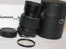 PENTAX SMC 135mm 1:3.5 for pentax 35mm slr K MOUNT LENS