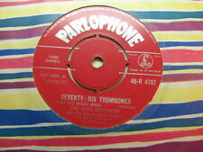 "King Brothers – Seventy-Six Trombones 1961 7"" Parlophone R 4737"