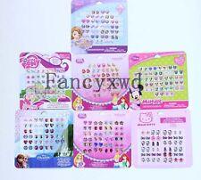 10 Sheets Sticker Earrings Set  24 Pairs/Sheet Princess Anna Elsa Minnie