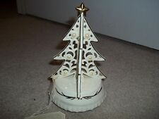 Holiday Porcelain Musical Christmas Tree. Rue Moliere Collection