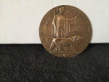 More details for solid bronze dead mans penny william braithwaite issue no. 60