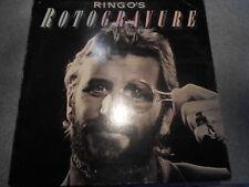 RINGO STARR  ROTOGRAVURE   GATEFOLD COVER  LP WITH INNER SLEEVE   465