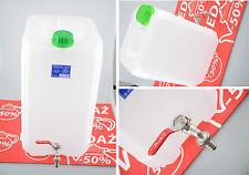 2x Wasserkanister 30L Kanister Trinkwasserkanister mit Hahn Camping 12 E Versand