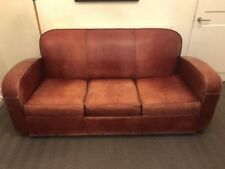 Unbranded Leather Living Room Sofa Beds