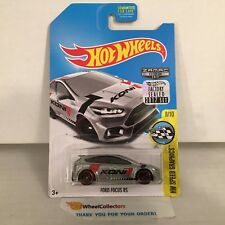 Ford Focus RS * ZAMAC * 2017 Hot Wheels FACTORY SET Edition