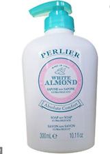 Perlier WHITE ALMOND ABSOLUTE COMFORT Ultra-Delicate Liquid Soap,  10.1 oz  Seal