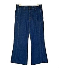 Vintage Mens LEVI'S 516 Jeans Bell Bottoms ORANGE FEATHER *FREE WORLDWIDE SHIP*