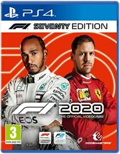 FORMULA ONE 2020 SEVENTY EDITION Great condition PS4 PLAYSTATION 4 70 F1