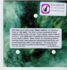 (FG767) The Acid, Basic Instinct - 2014 DJ CD