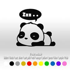 "5"" Cute Sleeping Panda Car Laptop Surf Window Diecut Vinyl Decal sticker"