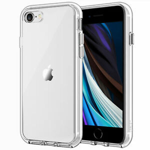 JETech Case for iPhone SE 2020 / 8 / 7 Shock-Absorption Bumper Case Cover