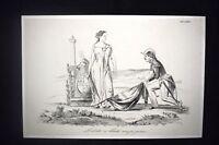 Incisione d'allegoria e satira Libertà, Bologna Don Pirlone 1851