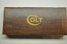 Colt #221 Early SAA Wood Grain Styrofoam box