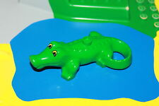 Lego Duplo Zoo - großes Krokodil in grün für den Zoo, Alligator K 29