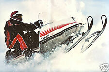 YAMAHA banner vintage retro 70's seventies COOL!
