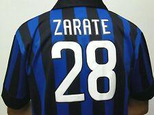 MAGLIA CALCIO FC INTER 2012 ZARATE TAGLIA XL UFFICIALE VECCHIA MAGLIETTA L