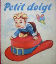 PETIT DOIGT TOM POUCE TOM THUMB 1950 EDITIONSTOURET COLL.FEERIES