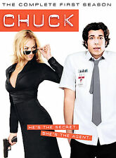 Chuck - The Complete First Season DVD 4-Disc Set Widescreen 2008