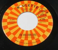 """HULLABALLOOS I'm Gonna Love You Too/Party Doll 45 7"""" US BUDDY HOLLY COVER LISTEN"""