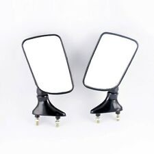 Black Motorcycle Side Rear View Mirror for YAMAHA FZR250/400 TZR250 TZM150 3XV
