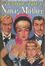 Nana's Mother-Emile Zola-Vintage Avon Paperback #271-1950