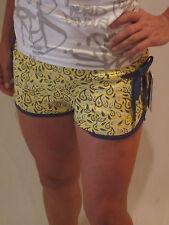 Ecko Red Tuff Enuf short [talla s] señora hotpants hotpant amarillo nuevo & OVP eckö