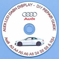AUDI DIS LCD RIPARAZIONE Cluster-A3 A4 A5 A6 A8 S3 S4 S6 S8 & RS4, R8 Quattro