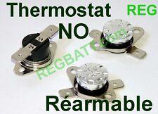 Interrupteur à Thermostat NO klixon 40°C bilame