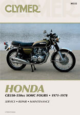 Clymer Repair Service Shop Manual Vintage Honda CB 350 F /400/500/550/550 F