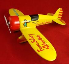FIRST IN SERIES 1994 ~ FARM SAFETY ~ VINTAGE AIRPLANE BANK DIE-CAST METAL