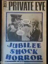 PRIVATE EYE # 400 - PRINCESS ANNE & MARK PHILLIPS - APRIL 1977