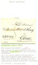 NEDERLAND 1811 BRIEF AMSTERDAM - GENT  ST = AMSTERDAM 118==   ZIE TEKST