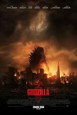 Godzilla (2014) Movie Poster (24x36) - Bryan Cranston, Elizabeth Olsen