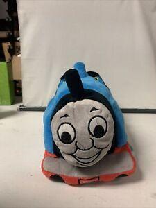 """Thomas The Tank Engine Train Plush Bean Bag Microbead 3D 16"""" Pillow Gullane 2013"""
