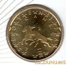 Slovénie 2011 - 20 Centimes d'Euro 100000 exemplaires Provenant du coffret BU RA