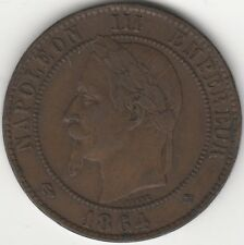 1864 BB France Napoleon III Empereur 10 Centimes | European | Pennies2Pounds