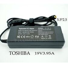19V 3.95A Laptop Charger Adapter For Toshiba Satellite L750 L750D L500D L650D AU