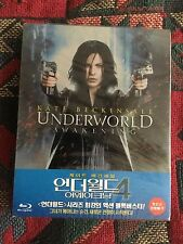 Underworld Awakening steelbook, Korean import