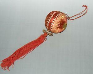 "Japanese Traditional Folk Craft ""Temari"" Thread Ball Handmade"