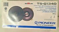 "NEW PIONEER TS-G1340 5-1/4"" FLUSH MOUNT COAXIAL 2-WAY SPEAKERS 80W"