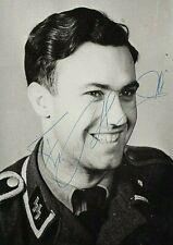 WW2 WAFFEN SS LSAAH FRIEDRICH BLOND KNIGHTS CROSS DKiG IAB BERLIN SGND.FOTO++