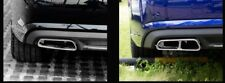 S6 / RS6 Look S-Line Auspuffblende für Audi A6 C7, A7